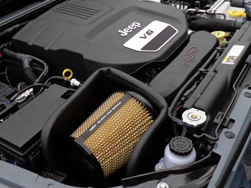 2015 Jeep Wrangler Cold Air Intake