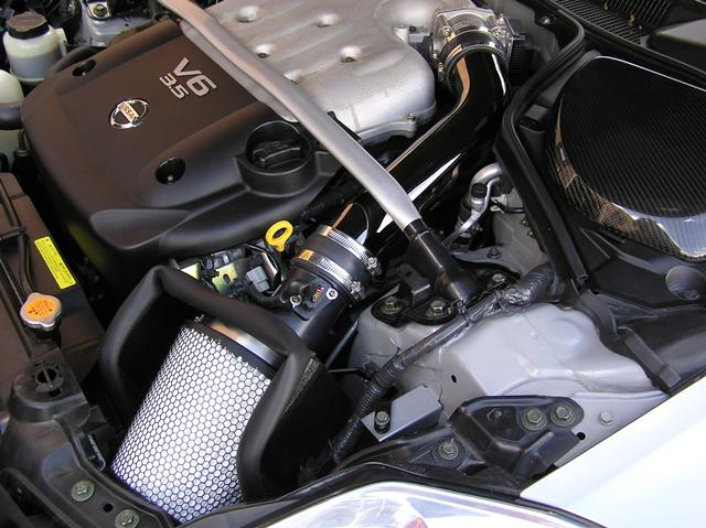 nissan  cold air intake systems