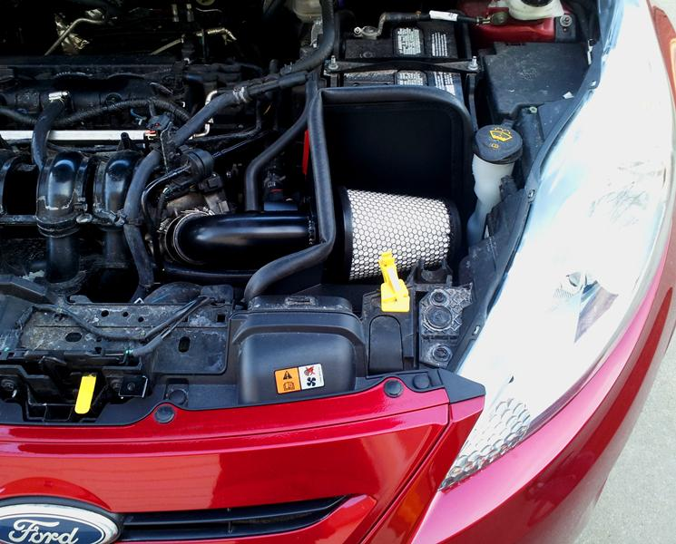Ford Fiesta Cold Air Intake R2C