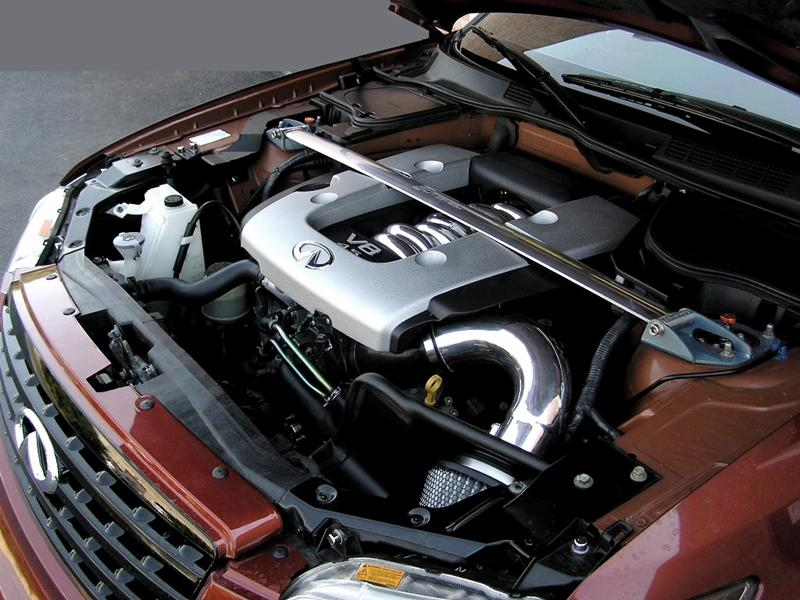 FX 45 High Flow Cold Air Intake