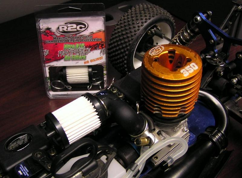 R2C Losi-Associated 1/8 Scale Performance Filter